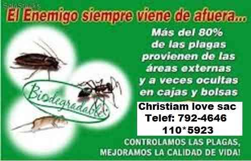 PUEBLO LIBRE, SERVICIO DE FUMIGACIONES EN PUBLO LIBRE 792-4646