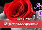 Arreglos florales en huánuco, de flores, rosas, lilium, girasoles, peluches, chocolates y más