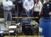 Limpieza y desinfecciÓn de cisternas y tanques de agua
