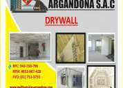 Servicio - sistema drywall
