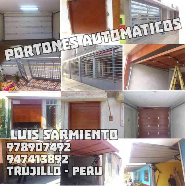Portones Automáticos. Fabricación, instalación y mantenimientos 978907492