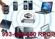 Wifi gratis,te pasan internet por cable,aprovéchalo al maximo