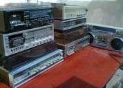 Compro equipos audio componentes, tocadiscos, tornamesas, radios antiguas