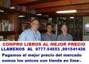 Empresa compro libros usados y nuevos,garantizamos seguridad en su hogar o empresa.