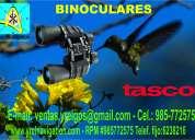 Binoculates tasco, para ornitología, cabalgatas