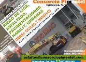 Reparación y mantenimiento de pistas en asfalto rc 250 bacheos parches perú 2017