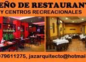 Arquitecto diseÑa restaurantes, centros recreacionales, eco hostales, etc.