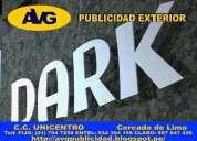 Avg letras de acero lima perú avgcorporeas letreros publicitarios