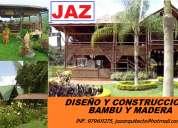 DiseÑo de restaurantes, recreos, centros turisticos, chacha, bagua, jaen