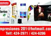 Soportes publicitarios, banner gigantografia perú,  display wall , roll screm, rpc: 989802925