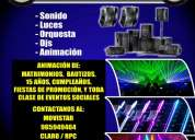 Sicodelica eventos - alquiler de equipos de sonido y luces - huaraz