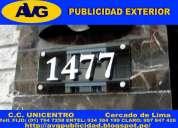 Avg letreros luminosos lima peru letras de acero avg empresa especializada en publicidad exterior