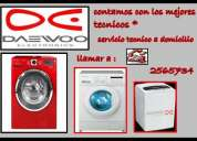 Servicio tecnico de lavadoras daewoo 2565734 lima