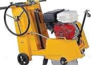 Alquiler de cortadoras para concreto o asfalto rpc:997-470736