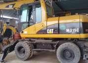 Alquiler excavadoras sobre ruedas caterpillar baratos 4252269