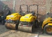 Alquiler y venta de rodillo compactador diversas toneladas 997470736