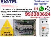 instalaciones electricas y pozos a tierra