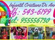 Show infantil cristiano de anni tel:955556730  / 5436199