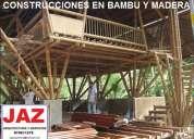 En bambu, casas de campo, bungalows, recreos campestres, diseÑo y construccion