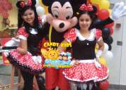 Show infantil mickey ,minnie mouse lima