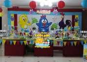 Fiestas infantiles gallina pintadita,decoraciÓn,candy bar lima