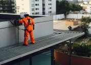 Limpieza y mantenimiento de techos en altura. tlf 6571579 - 998227060