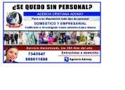 Agencia cristiana de empleos adonay