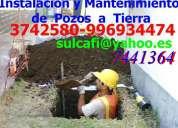 Pozo a tierra  instalacion y mantenimiento