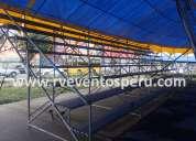 Alquiler de tribunas metalicas