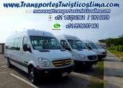 transporte privado a nazca