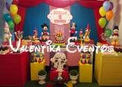 Circo de mickey mouse -decoraciones temáticas  y personalizadas en lima