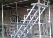 Venta de andamios a buen precio  andamio con escaleras de acceso