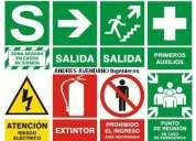 Planos de seÑalizacion y evacuacion defensa civil
