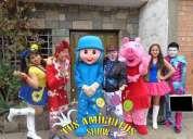 Animadoras y bailarinas 910483816 de show infanti
