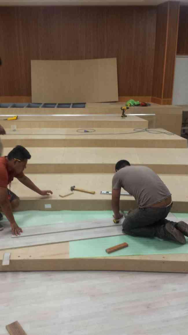 restauracion de toda clase de pisos de madera