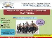 PreparaciÓn para entrevistas laborales- ffaa y policÍas