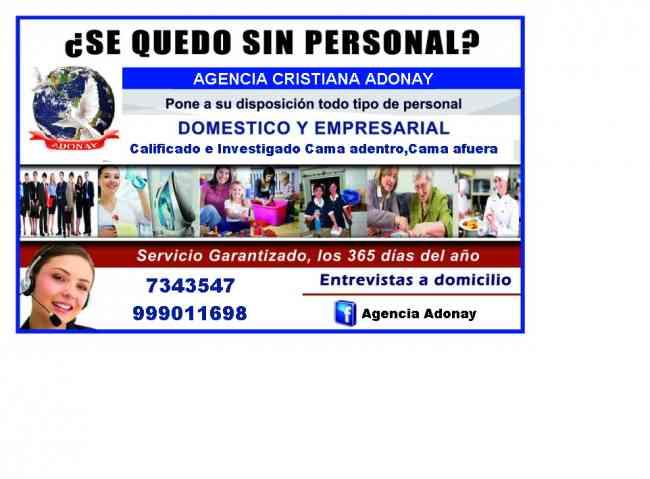 AGENCIA EMPLEOS ADONAY