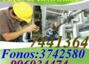 Electricistas  electronicos  reparaciones y mantenimiento electrico en general.