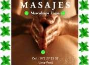 Masajes masculinos en lima alexander para caballeros