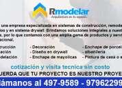 Servicio de remodelaciones y ampliaciones en drywall