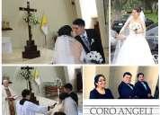 Coro para matrimonio, misas y recepciones, coro angeli