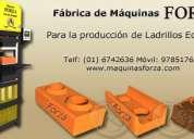 Maquinas ladrilleras manuales y automÁticas