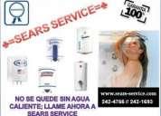*sears* servicio tecnico de reparacion de termas kinmore /klimatic /samsung /mayta