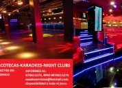 DiseÑo de discotecas, karaokes, night clubs, jaen, bagua, chachapoyas