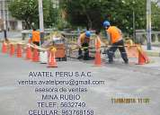 Avtel peru s.a.c. la ingenieria a su servicio