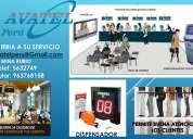 Avatel peru s.a.c. ordenadores de filas o colas relojes biometricos