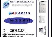 Servicio tecnico de termas aquamaxx 953736157 lima