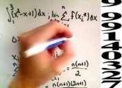 Clases particulares de matematica a domicilio 999140327