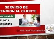 Servicio de atencion al cliente