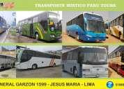 Traslado en buses custer vans